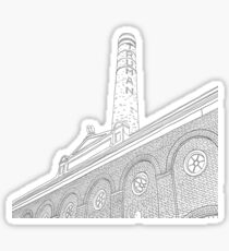 London Truman Chimney for Colouring Sticker