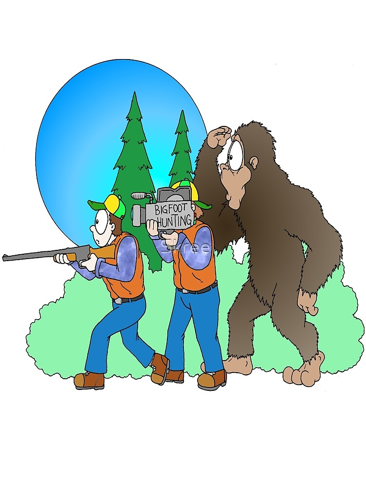 Hunting Bigfoot by Skree