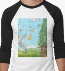 Sound of horns Men's Baseball ¾ T-Shirt