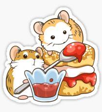 Scones Roborovski Hamster Sticker
