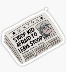 Stoop Kid  Sticker