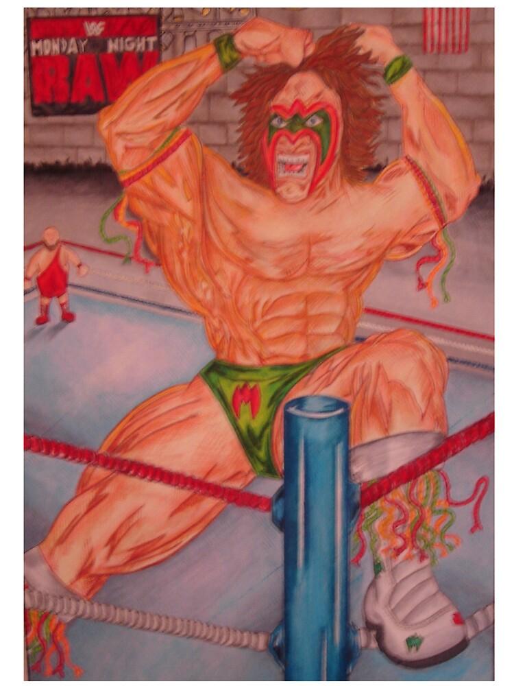 The Wrestler by Kris Pavone