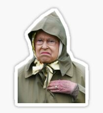 The Queen Disapproves  Sticker