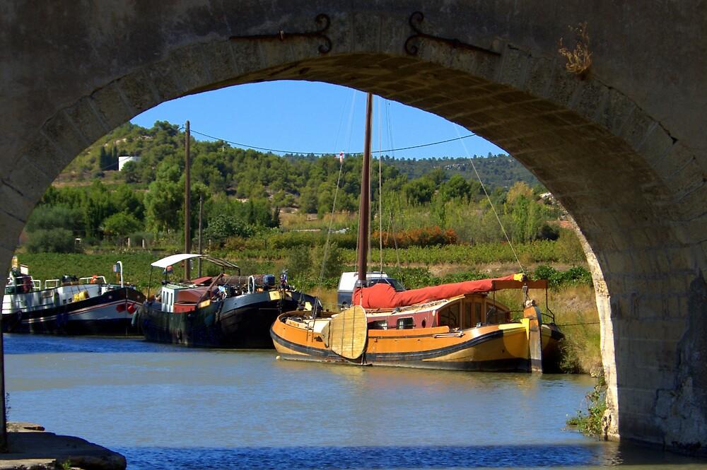 Canal du Midi by John Thurgood