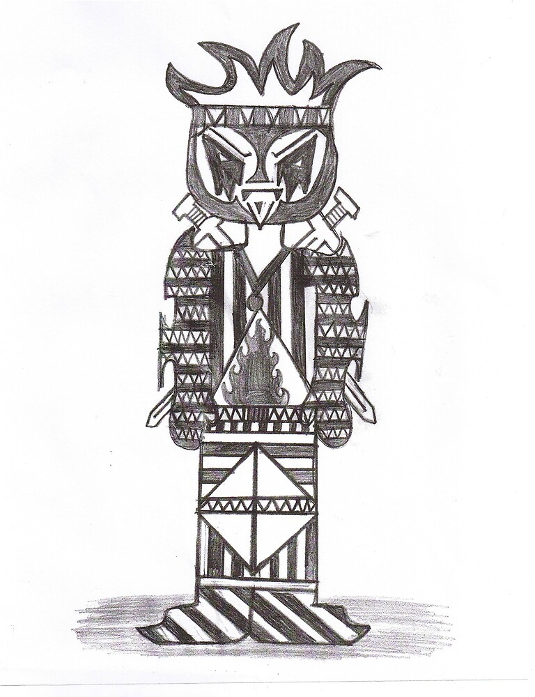 Tiki Fighter by SusanC