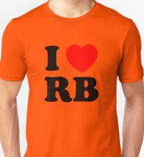 i heart RB Unisex T-Shirt