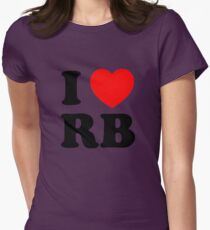 i heart RB Women's Fitted T-Shirt