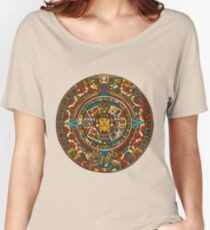 Aztec Calendar Women's Relaxed Fit T-Shirt