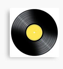 Music Record Canvas Print