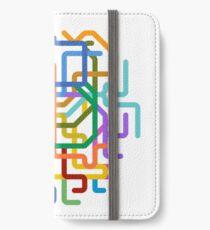 Mini Metros - Seoul, South Korea iPhone Wallet/Case/Skin