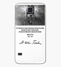 Nikola Tesla Case/Skin for Samsung Galaxy
