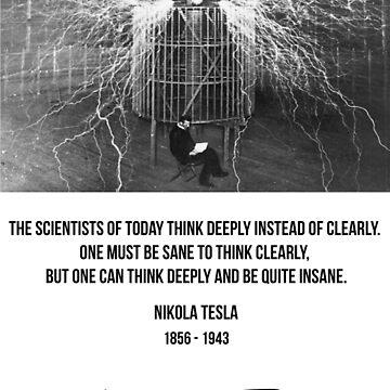 Nikola Tesla by MorrisonJones27