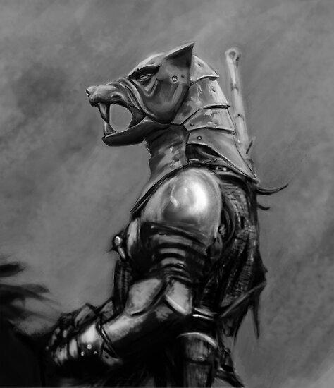 Hund des Krieges von DoultreeDesigns