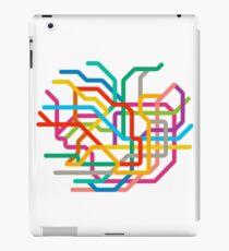 Mini Metros - Tokyo, Japan iPad Case/Skin