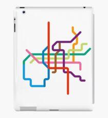 Mini Metros - Osaka, Japan iPad Case/Skin