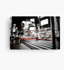 Shibuya Madness Canvas Print