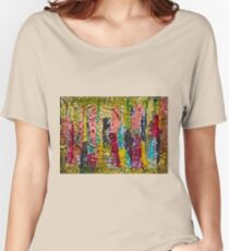 November - painting - Abstract . Women's Relaxed Fit T-Shirt