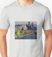 Reptar Goes to Pittsburgh Unisex T-Shirt