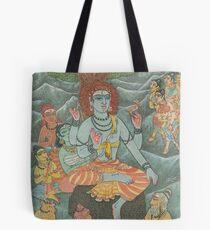 Shiva Gives Discourse on Yoga Tote Bag