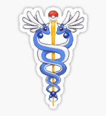 Caduceus Dragonair Sticker