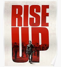 Walking Dead Rise up Products Poster