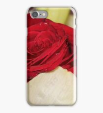 Una rosa per te iPhone Case/Skin