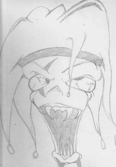Wicked Clown by KiLLerxKarNi