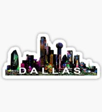 Dallas in graffiti  Sticker