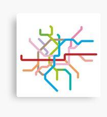 Mini Metros - Cologne, Germany Canvas Print