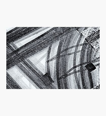 Snow abstract Photographic Print