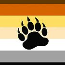 Bear Pride Flag Stripe by queeradise