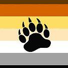 Bear Pride Flag Stripe by queeradise