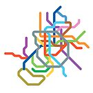 Mini Metros - Madrid, Spain by transitoriented