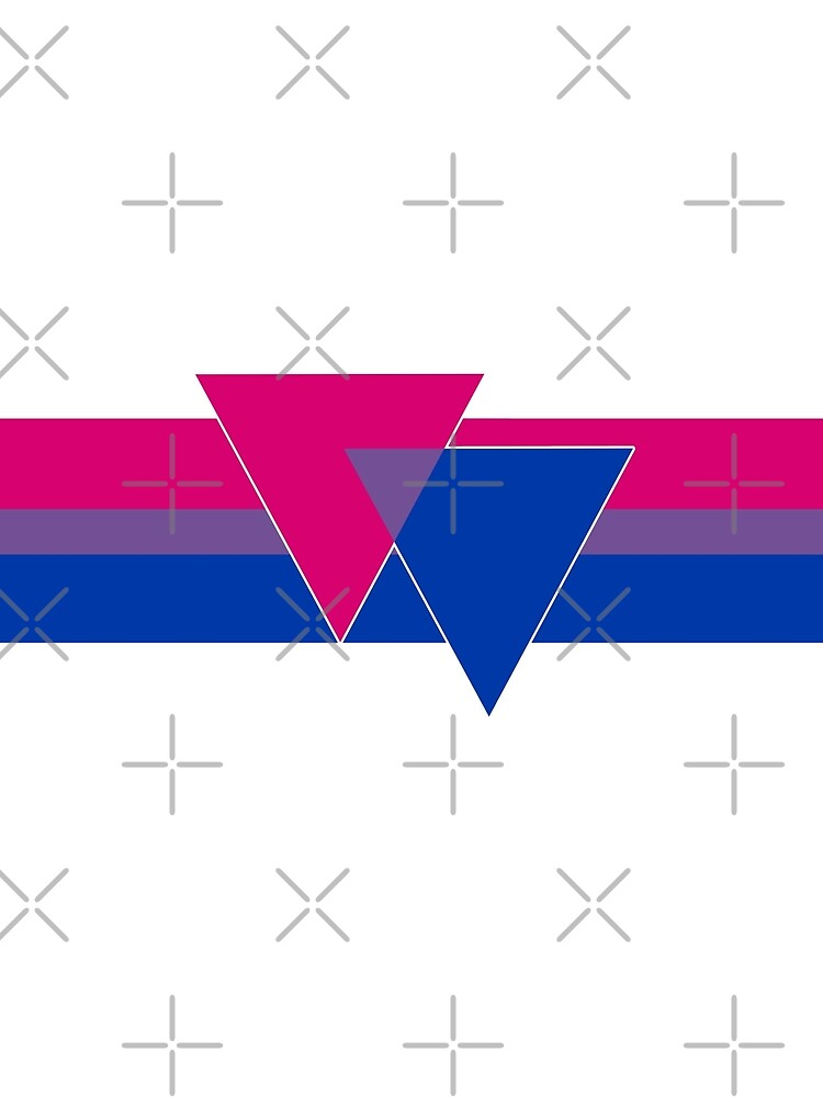 Bisexual Pride Symbol by queeradise