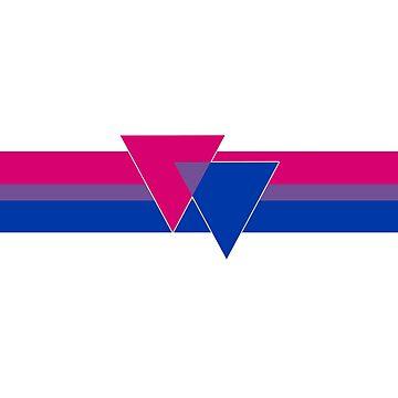 Bisexual Pride Symbol by queeradise