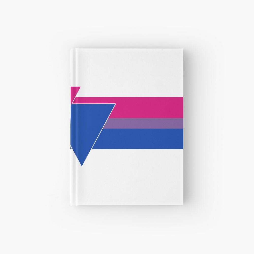Bisexual Pride Symbol Hardcover Journal