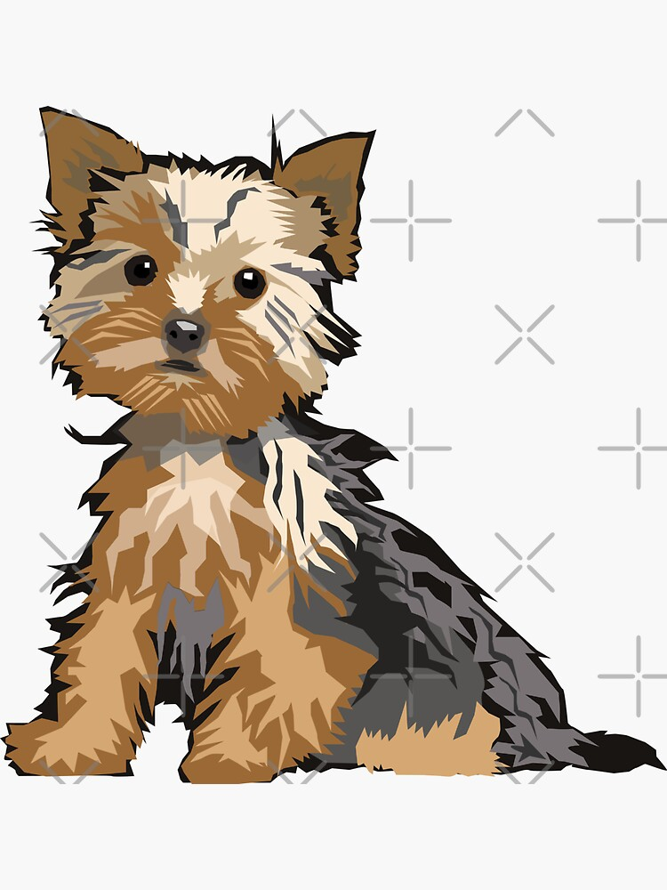 Yorkie de graphicgiant