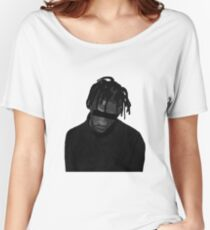 Travis Scott illustration (MORE VERSIONS IN ARTIST NOTES) Women's Relaxed Fit T-Shirt