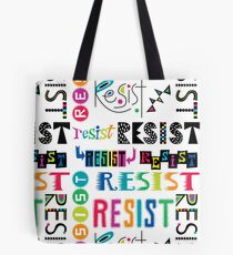 Resist Again Tote Bag