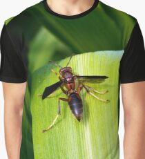 Paper Wasp Graphic T-Shirt