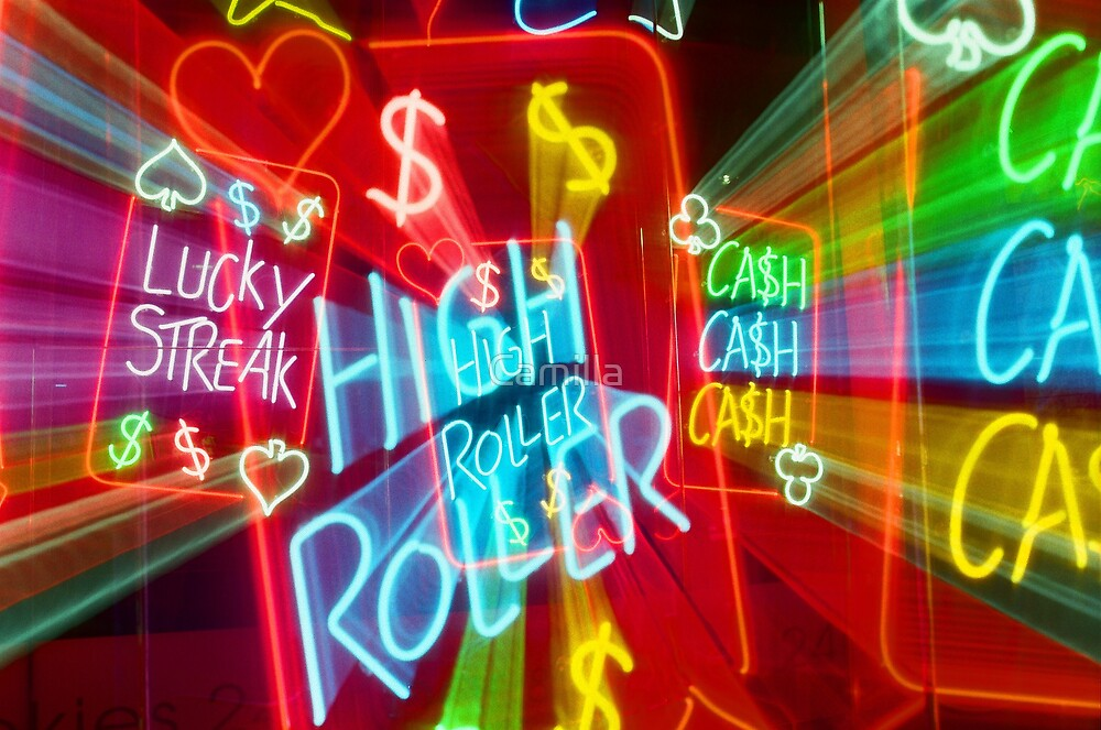 Hindley Street Neon by Camilla
