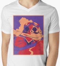 Porco Rosso Men's V-Neck T-Shirt