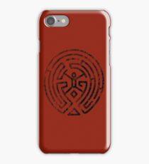 Westworld Maze Original Black Distressed iPhone Case/Skin