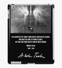 Nikola Tesla iPad-Hülle & Klebefolie