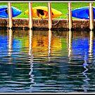 Reflecting on Summer Colors ! by Elfriede Fulda