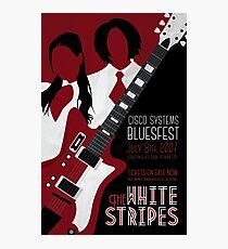 The White Stripes Art Deco Photographic Print