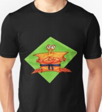 Karate Crab; blue belt Unisex T-Shirt