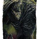 Undead Werewolf by drakhenliche