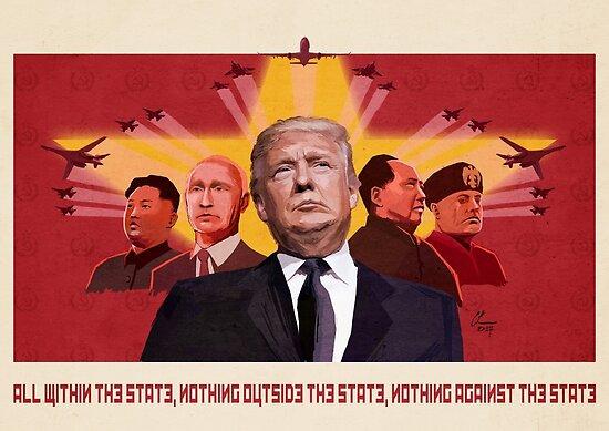 Quot Trump Communist Propaganda Red Quot Posters By Doubletakeproj