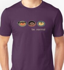Be Normal: Super Normal Diversity Friends - Earthtones Unisex T-Shirt